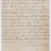 Ww1 Connie Letter Oct 30 Verso